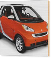 2008 Smart Fortwo City Car Wood Print