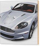 2009 Aston Martin Dbs Wood Print by Oleksiy Maksymenko