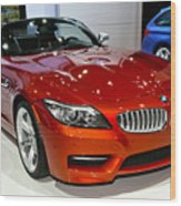 2014 Bmw Z4 Roadster Sdrive35is Wood Print