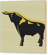 3 Bulls Wood Print