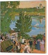 43785 Boris Kustodiev Wood Print