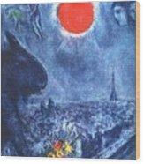 4dpictdswq Marc Chagall Wood Print