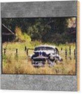53 Pontiac Wood Print