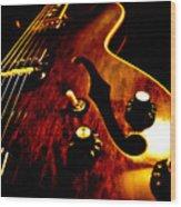 '68 Gibson Wood Print