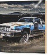 69 Thunderbird Wood Print