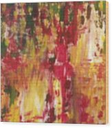 74 Wood Print