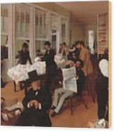 A Cotton Office In New Orleans Wood Print