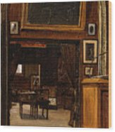 A Gallery In The Old Museum Wood Print