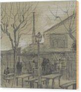 A Guinguette Paris, February - March 1887 Vincent Van Gogh 1853 - 1890 Wood Print