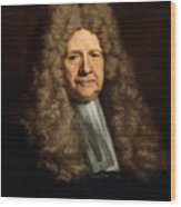 A Magistrate Painting Painted Originally Wood Print