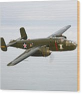 A North American B-25 Mitchell Wood Print