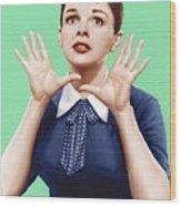 A Star Is Born, Judy Garland, 1954 Wood Print by Everett