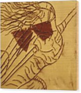 Abandon - Tile Wood Print