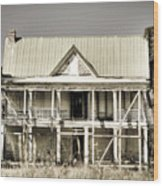Abandoned Plantation House #1 Wood Print
