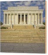Abraham Lincoln Memorial  Wood Print