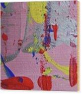Abstract 10061 Wood Print