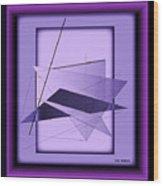 Abstract 549 Wood Print