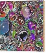 Abstract 62316.5 Wood Print