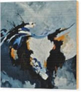 Abstract 880150 Wood Print