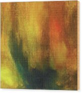 Abstract Background Structure With Oil Painting Texture In Tones Of Nature. Wood Print