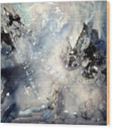 Abstract Expressive 009 Wood Print