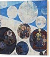 Abstract Painting - San Marino Wood Print