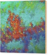 Abstract Pallet Oil Color Wood Print