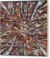 Abstraction 3101 Wood Print