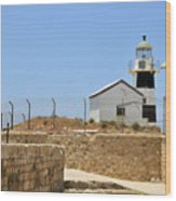 Acre, The Lighthouse  Wood Print