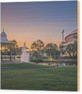 Adelaide Sunset Wood Print