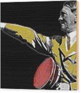 Adolf Hitler Saluting  Circa 1933-2012  Wood Print