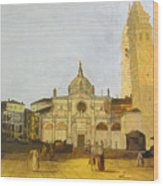 After Campo Santa Maria Formosa Wood Print