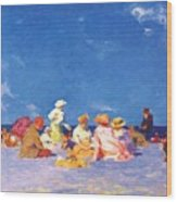 afternoon fun Edward Henry Potthast Wood Print