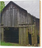 Aged Wood Barn Series Wood Print