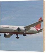 Air India Boeing 787 Wood Print