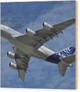 Airbus A380 Wood Print