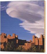 Ait Benhaddou Casbah Wood Print