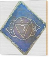 Ajna - Third Eye Chakra  Wood Print
