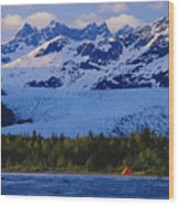 Alaska, Inside Passage Wood Print