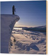 Alaska, Juneau Wood Print