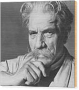 Albert Schweitzer Wood Print