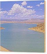 Albiquiu Reservoir, Route 84, New Mexico Wood Print