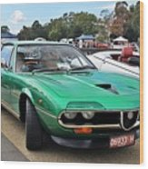 Alfa Romeo Montreal Wood Print