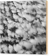 Alltocumulus Cloud Patterns Wood Print