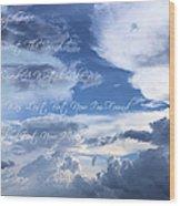 Amazing Grace Wood Print