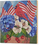 America The Beautiful-jp3210 Wood Print