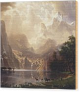 Among The Sierra Nevada, California Wood Print