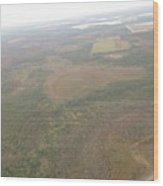 An Aerial View Of Fort Myers Wood Print
