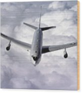 An E-8c Joint Surveillance Target Wood Print