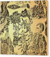 Ancient Dreams Wood Print